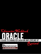 Character Workbook Revised: Oracle for PFRPG