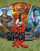A Fistful of Fight Scenes GM Screen (Feng Shui 2E) [digital]