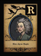 Miss Jayne Maple - Custom Card