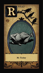 Mr. Turkey - Custom Card