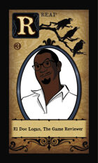 El Doc Logan, The Game Reviewer  - Custom Card