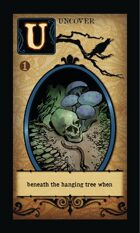 Beneath The Hanging Tree When - Custom Card