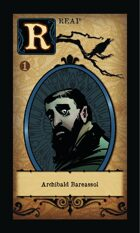 Archibald Bareassol - Custom Card