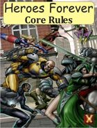 Heroes Forever RPG Core Rules (d12 system)