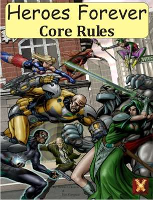 heroes forever rpg core rules d12 system guild of blades
