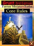 3rd Ed: Grunt Fantasy Miniature Battles
