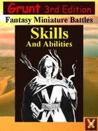 3rd Ed: Grunt Skills & Abilities