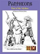 Pantheons: War of the Mythos Board Game