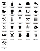 Scottish Media Lab - Castles - 20+ PNG Icon Pack