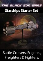 Black Sun Wars RPG Starship Starter set