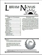 Libram Novus #7