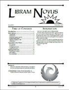 Libram Novus #8