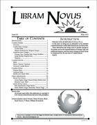 Libram Novus #11