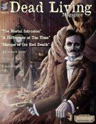 Dead Living Magazine, Issue 1