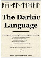 The Darkic Language