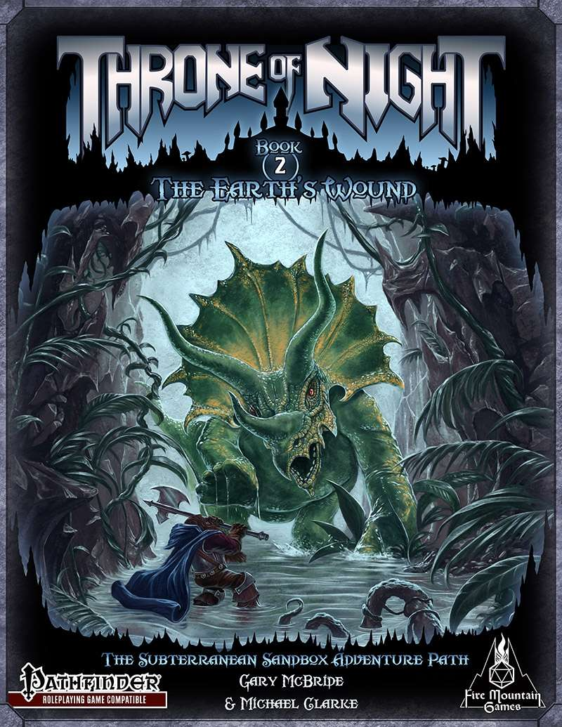 Throne of Night Book Two: The Earth's Wound
