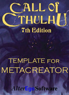 Call of Cthulhu 7th Edition Template