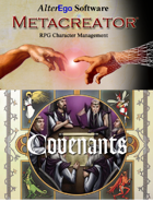 Ars Magica Covenants Template for Metacreator