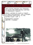 Tranq Pistol - Custom Card