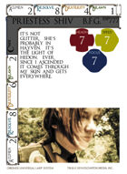 Priestess Shiv  B.f.g. - Custom Card