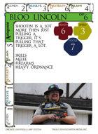 Bloo Lincoln - Custom Card