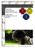 Dr. Comstock Pierce - Custom Card