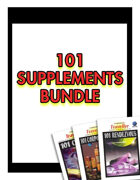 101 Supplements [BUNDLE]