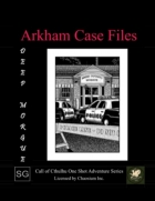 Arkham Case Files: Deep Morgue