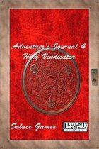 Adventurers Journal 4: Holy Vindicator (Legend)
