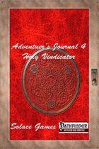 Adventurers Journal 4: Holy Vindicator (Pathfinder)