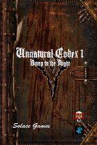 Unnatural Codex 1: Bump in the Night (d6)