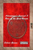 Adventurers Journal 5: Rise of the Goat-Beasts (Legend)
