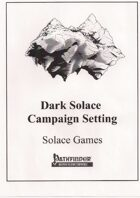 Dark Solace Campaign Setting (PFRPG)