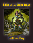 Tales of the Elder Days-Rules of Play-Digital