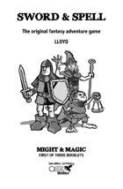 Sword & Spell - Might & Magic - Booklet 1