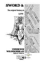 Underworld & Wilderness Adventures with Map [BUNDLE]