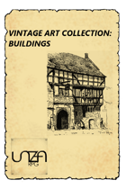 Vintage Art Collection: Buildings