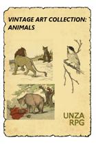 Vintage Art Collection: Animals