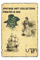 Vintage Art Collection: Pirates & Sea