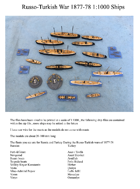 Russo-Turkish Wars Ships