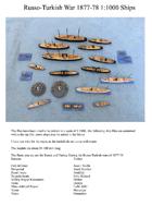 Russo-Turkish Wars Ships