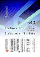 Elaboration: Structure & Surface