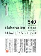 Elaboration: Atmosphere & Liquid