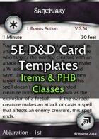 Tintagel's 5E D&D Card Template (CORE)