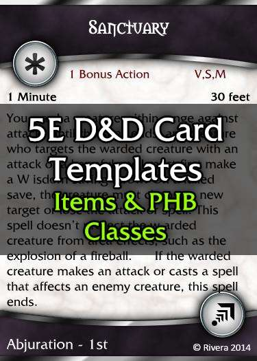 photo regarding Printable Monster Cards 5e named Tintagels 5E DD Card Template (Main) - Innovative Gremlins