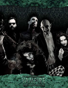 Vampire: The Masquerade 20th Anniversary Edition Storytellers Screen