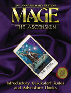 Mage 20th Anniversary Edition Quickstart
