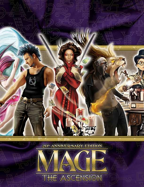 Mage The Ascension 20th Anniversary Edition Wallpaper Onyx Path