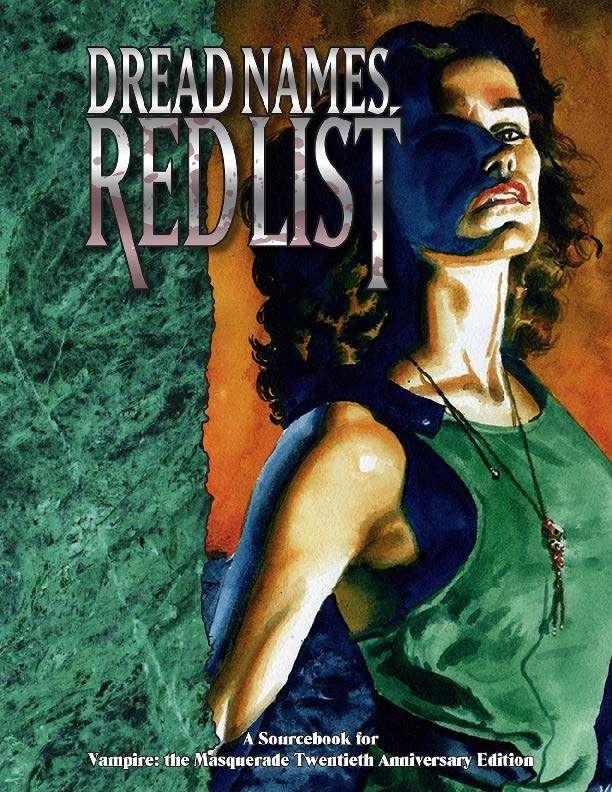 V20 Dread Names, Red List