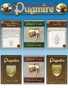 Pugmire Card Set One (Trick, Condition, and Initiative Cards)